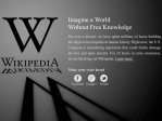 Wikipedia joins online protest