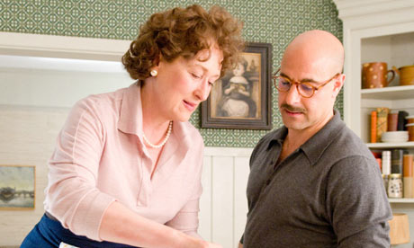 Julie and Julia - scene with Meryl Streep and Stanley Tucci