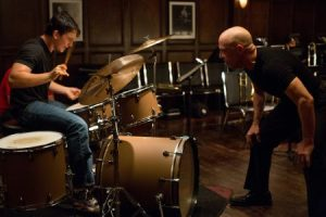 Miles Teller and JK Simmons in Whiplash film