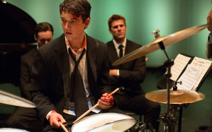Miles Teller in Whiplash movie